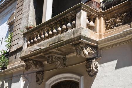 Historical Palace. Oria. Puglia. Italy. Stock Photo - 12339911