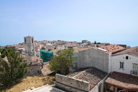 monte sant angelo: Panoramic view of Monte Santantangelo  Puglia  Italy