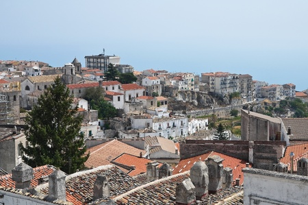 foggia: Panoramic view of Monte Santantangelo  Puglia  Italy