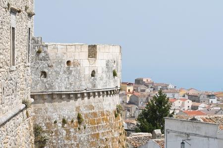 monte santangelo: Castle of Monte Santangelo  Puglia  Italy  Editorial