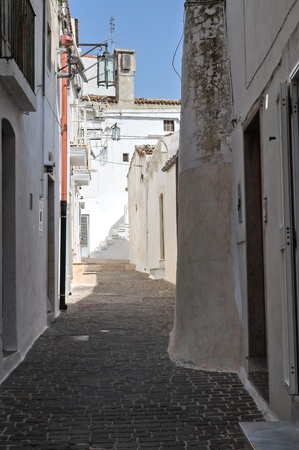 Alleyway  Monte Santangelo  Puglia  Italy  photo