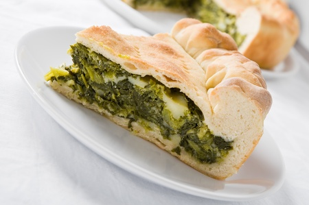Mediterranean vegetable pie  photo