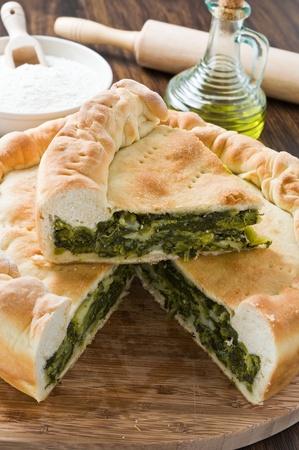 Mediterranean vegetable pie  photo