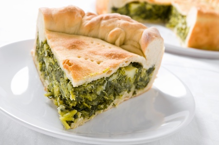 Mediterranean Vegetable Pie. photo