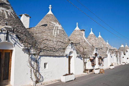 Alberobello's Trulli. Puglia. Italy. Stock Photo - 12590819