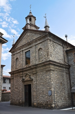 St  Lorenzo Church  Bobbio  Emilia-Romagna  Italy  Stock Photo - 12762172