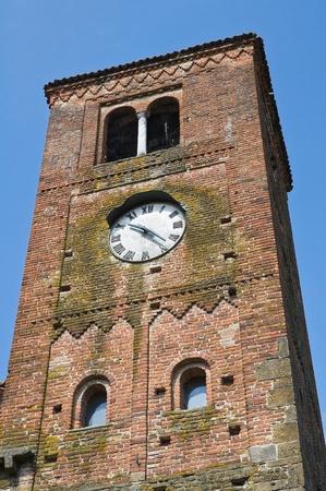 Clocktower  Vigolo Marchese  Emilia-Romagna  Italy  photo
