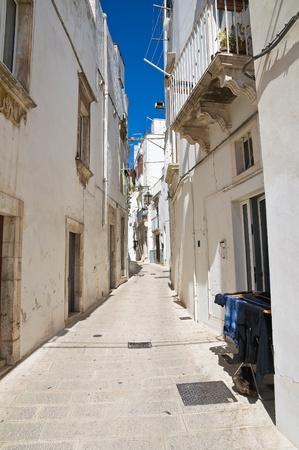 Alleyway  Martina Franca  Puglia  Italy  photo