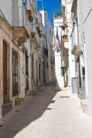 Alleyway  Martina Franca  Puglia  Italy  photo
