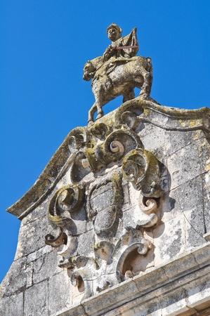 Arch of St  Stefano  Martina Franca  Puglia  Italy  photo