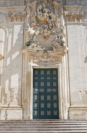martino: Basilica of St  Martino  Martina Franca  Puglia  Italy  Stock Photo