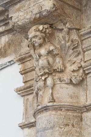 Magli Palace  Martina Franca  Puglia  Italy  photo