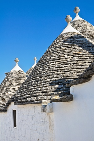 Alberobello trulli  Puglia  Italy  Stock Photo - 12764840