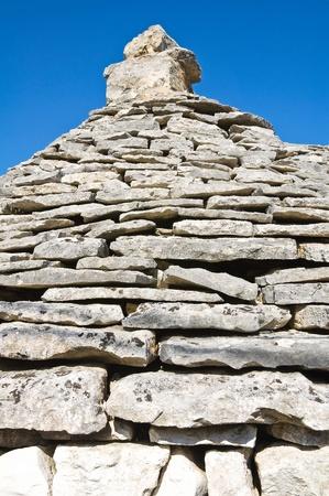 Alberobello trulli  Puglia  Italy Stock Photo - 12764935