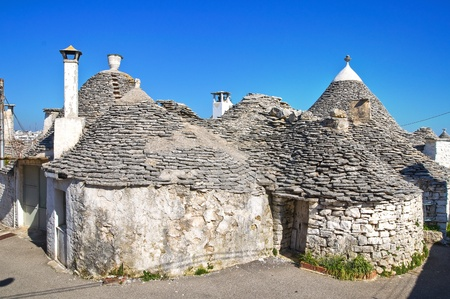 Alberobello trulli  Puglia  Italy  Stock Photo - 12762425