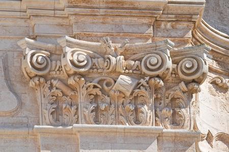 Basilica of St. Martino. Martina Franca. Puglia. Italy. photo