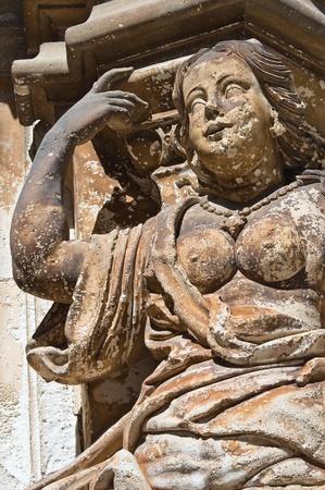 Ancona Palace. Martina Franca. Puglia. Italy. photo