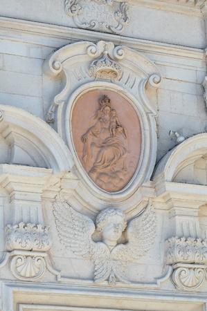 carmine: Chiesa del Carmine. Martina Franca. Puglia. L'Italia.