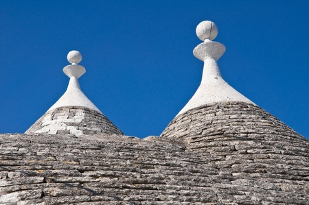 Alberobello trulli  Puglia  Italy  Stock Photo - 12762412