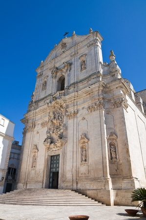 Basilica of St. Martino. Martina Franca. Puglia. Italy. photo