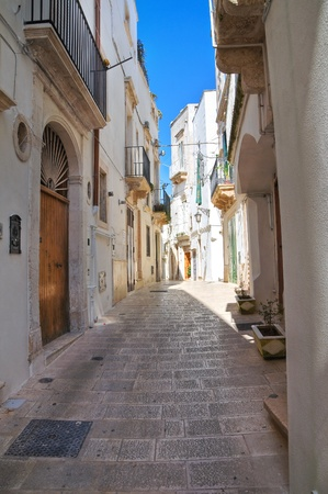 Alleyway. Martina Franca. Puglia. Italy. photo