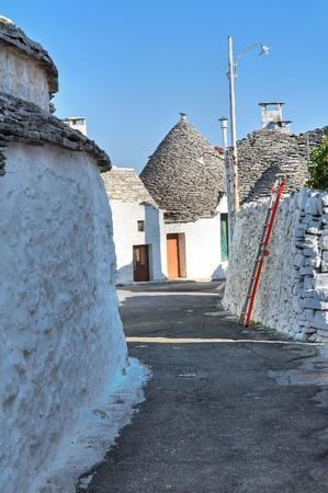 trulli: Alberobello trulli  Puglia  Italy  Editorial