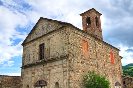 Monastery of St  Francesco  Bobbio  Emilia-Romagna  Italy Stock Photo - 12893298
