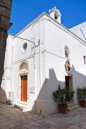 Church of St  Lucia  Cisternino  Puglia  Italy Stock Photo - 12984486