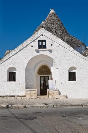 pinnacle: Sovereign trullo. Alberobello. Puglia. Italy. Editorial