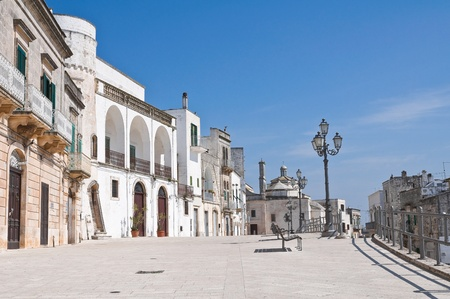 View of Cisternino  Puglia  Italy  photo