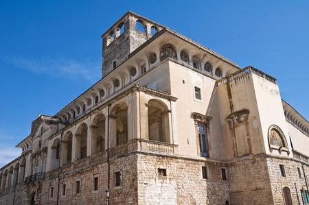 De Mari Palace. Acquaviva delle Fonti. Puglia. Italy. Stock Photo - 13047176