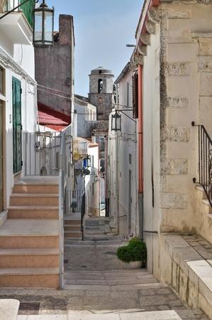 monte sant angelo: Alleyway  Monte Santangelo  Puglia  Italy