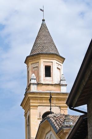 St  Stefano Church  Castellarquato  Emilia-Romagna  Italy  Stock Photo - 13144883