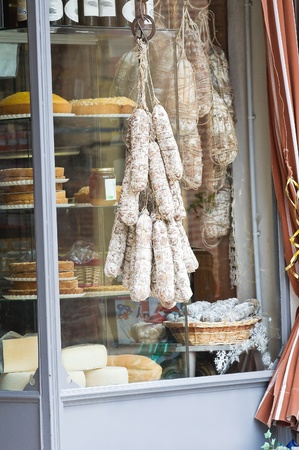 gastronomy: Delicatessen shop. Stock Photo