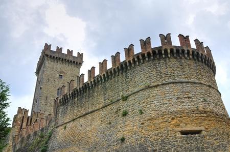 Castle of Vigoleno. Emilia-Romagna. Italy. photo