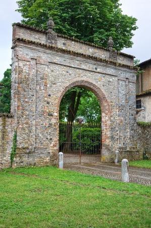 Castle of Vigolzone. Emilia-Romagna. Italy.
