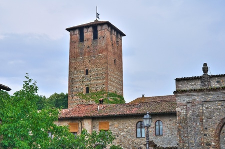 Castle of Vigolzone. Emilia-Romagna. Italy. photo