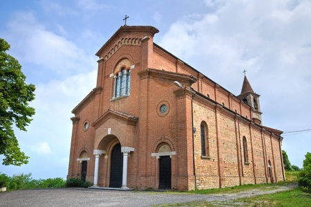 Church of Castellana. Gropparello. Emilia-Romagna. Italy. Stock Photo - 13211194