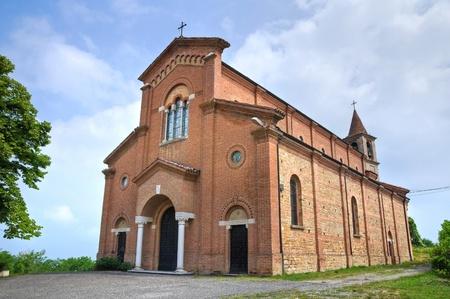 castellana: Church of Castellana. Gropparello. Emilia-Romagna. Italy.