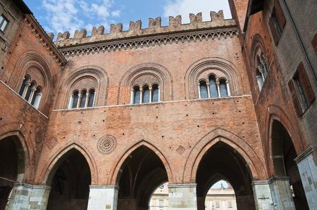 piacenza: Town hall  Piacenza  Emilia-Romagna  Italy  Stock Photo