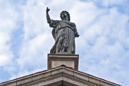 piacenza: St  Agostino church  Piacenza  Emilia-Romagna  Italy  Stock Photo