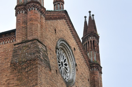 piacenza: Bas�lica de San Antonino. Piacenza. Emilia-Roma�a. Italia. Foto de archivo