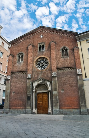 piacenza: St. Donnino church. Piacenza. Emilia-Romagna. Italy. Stock Photo
