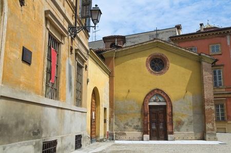 piacenza: St. Maria in Cortina church. Piacenza. Emilia-Romagna. Italy. Stock Photo