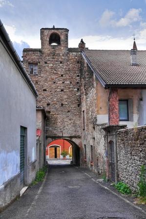 Panoramic view of Bettola  Emilia-Romagna  Italy Stock Photo - 13247737