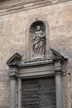 piacenza: S  Maria del Carmine church  Piacenza  Emilia-Romagna  Italy  Stock Photo