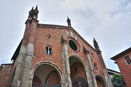 St. Eufemia church. Piacenza. Emilia-Romagna. Italy. Stock Photo - 13247699