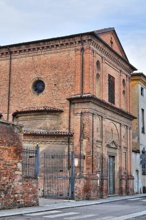 piacenza: St. Giuseppe church. Piacenza. Emilia-Romagna. Italy.