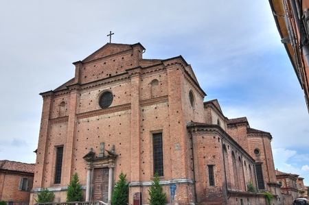 Church of Holy Sepulchre. Piacenza. Emilia-Romagna. Italy. Stock Photo - 13247708