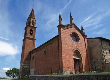 St. Lorenzo Church. Veano. Emilia-Romagna. Italy.